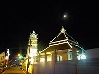 Chinatown in Malakka by night