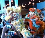Festiviteiten ter ere van de afsluiting van het Chinees Nieuwjaar.