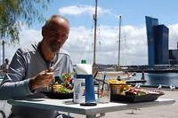 Laatste lunch bij Docklands