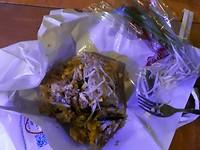 Pad Thai... M'n eerste maaltijd in Bangkok