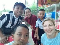 Met de familie