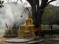 Boeddha in de rook
