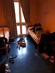 Onze kamer in de jeugdherberg
