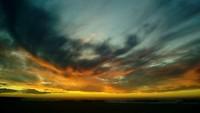 Magnifique zonsondergang