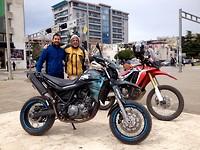 Yamaha xt meet Honda Crf