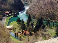 Kraakheldere rivieren in vooral Kroatië en Slovenië