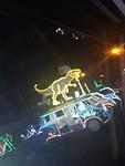 Nachtelijke rit door het centrum