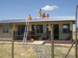 Installatie op het dak