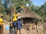 Installatie van een zonne-energiesysteem
