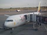 vliegtuig Ethiopian Airlines