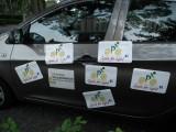 promotional car