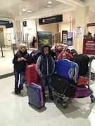 aankomst op vliegveld Bariloche
