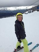 mooie dag op de ski