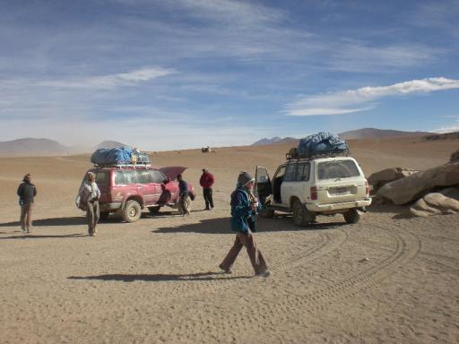 De jeeps