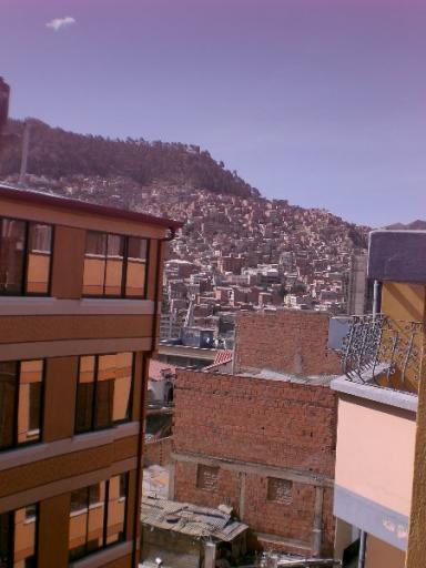uitzicht vanuit kamer