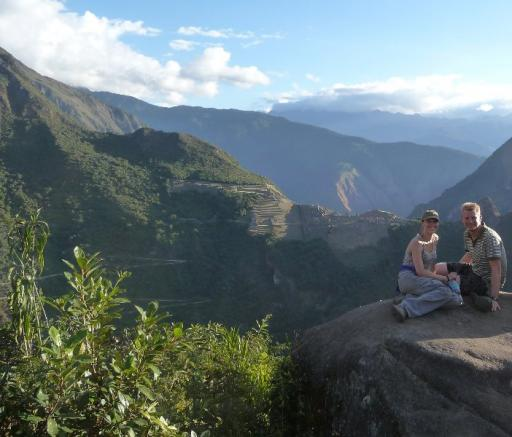 Top Putucusi en eerste zicht op Machu Picchu!