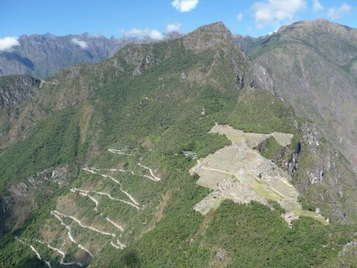 Machu Picchu vanaf Wayna Picchu