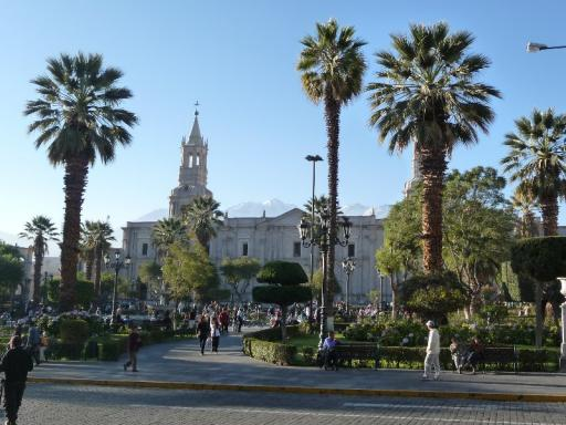 Plaza de Armas van Arequipa