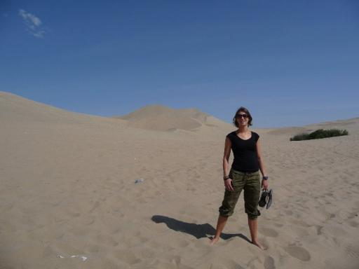 Majo in the desert
