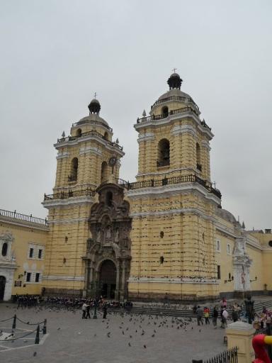 oude kerk in Lima