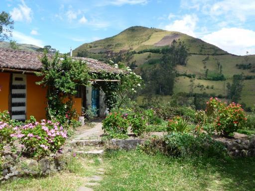 uitzicht vanaf hostel in Isinlivi