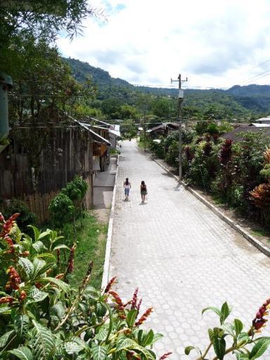 straatje in Mindo