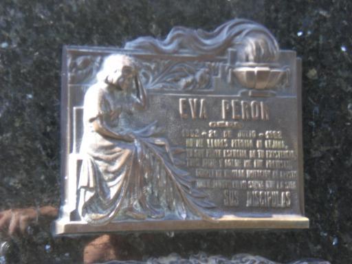 Graf van Evita Perón