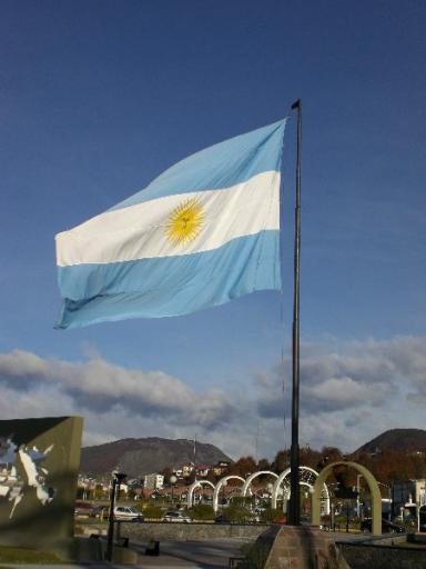 den Argentijnse vaandel