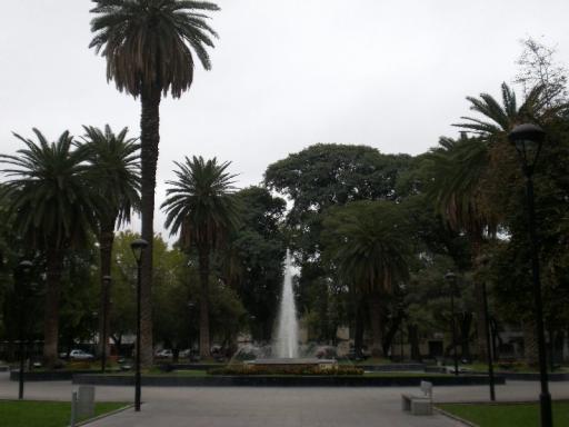 Mendoza, park met fontein