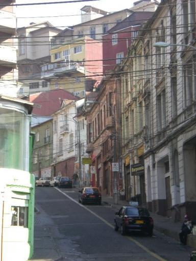 Valparaiso, nog een straatje omhoog