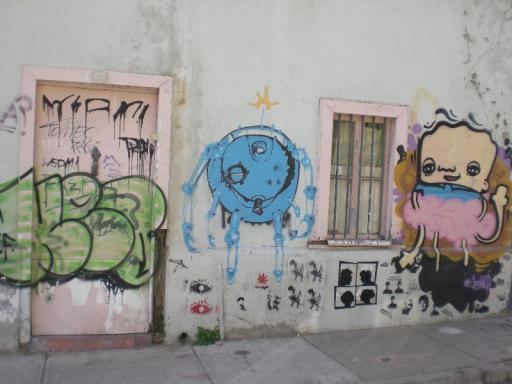 Valparaiso, graffiti