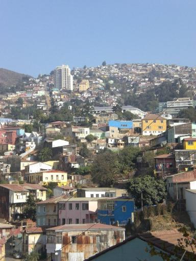 Valparaiso, bergop