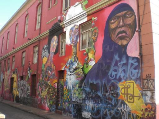 Valparaiso, graffiti 3