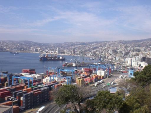 Valparaiso, zelfde plaatje dan zonder daan en majo