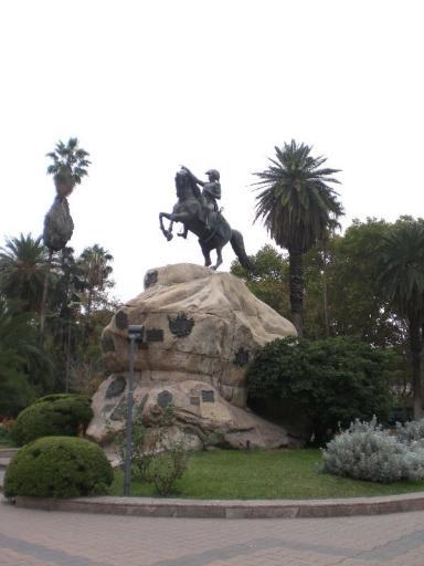 Mendoza, bevrijder van Argentinië (San Martin)