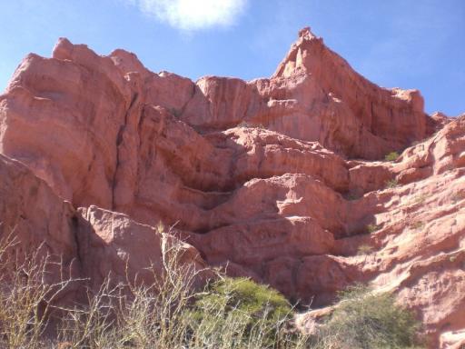 Rode rotsen