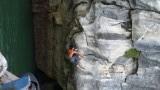 Een van de beste rockclimbers ter wereld zonder schoenen