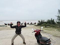 Onderweg naar Khe Sanh en Vinh Moc