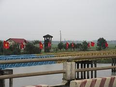 De vroegere brug tussen noord en zuid.