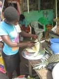 Hhmmm versgesneden ananas