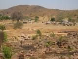 Uitzicht tijdens fietstocht in de Tongo Hills