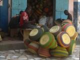 Traditionele 'Bolga' manden
