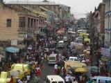 Drukte in Kumasi
