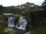 De waterval in Jajce