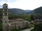Oude stad van Jajce, gelegen in de bergen