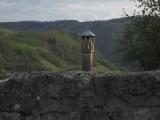 Houten minaret