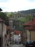 Straatbeeld in Travnik