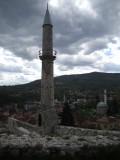 Zicht vanaf Travnik-fort