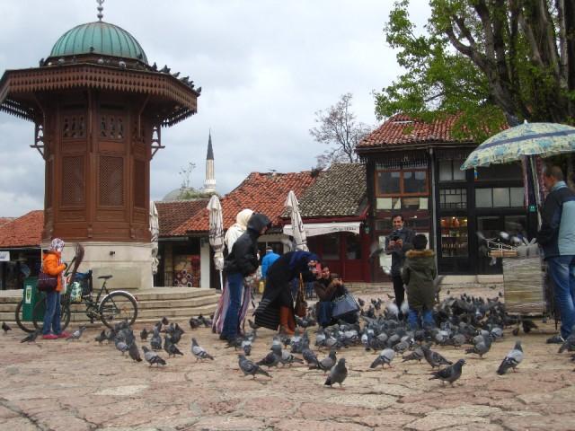 Bascarsija - Pigeon Square
