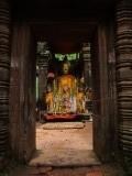 Grote Boeddha in Wat Phu